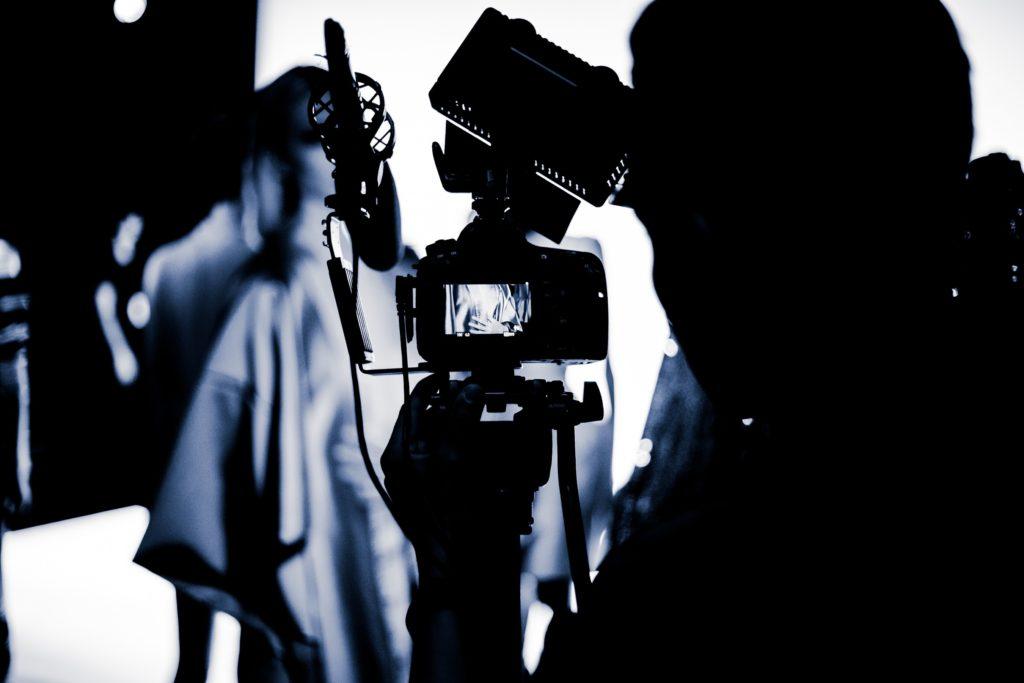 Kamera på opptak